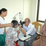 Sitagu Eye Centres in the various States and Divisions of Myanmar.